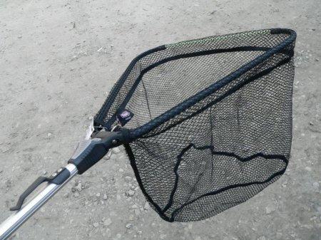 Подсачек и багорик для рыбалки